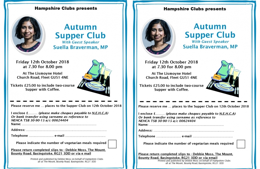 Supper Club at The Lismoyne Hotel, Fleet