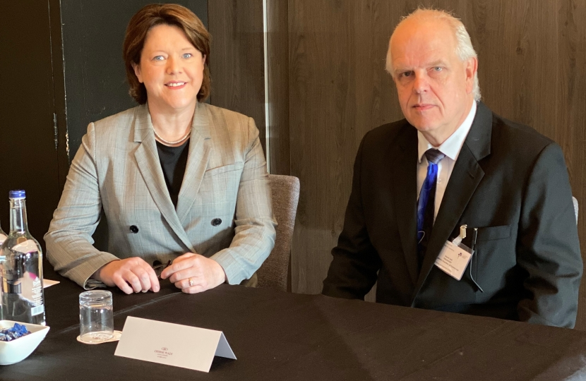 MARIA MILLER MP IS GUEST SPEAKER AT HAMPSHIRE CHAMBER OF COMMERCE EVENT
