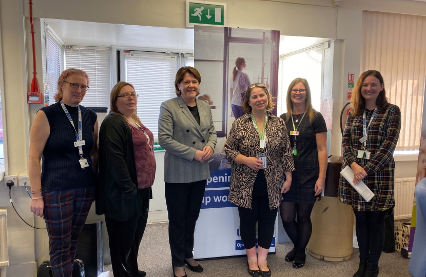 MARIA MILLER MP VISITS DISABILITY CONFIDENT CAREERS FAIR